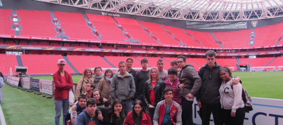 Visita al museo del Athletic